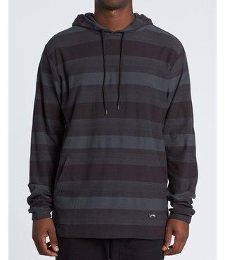 La Paz Pullover Long Sleeve Shirt - Black