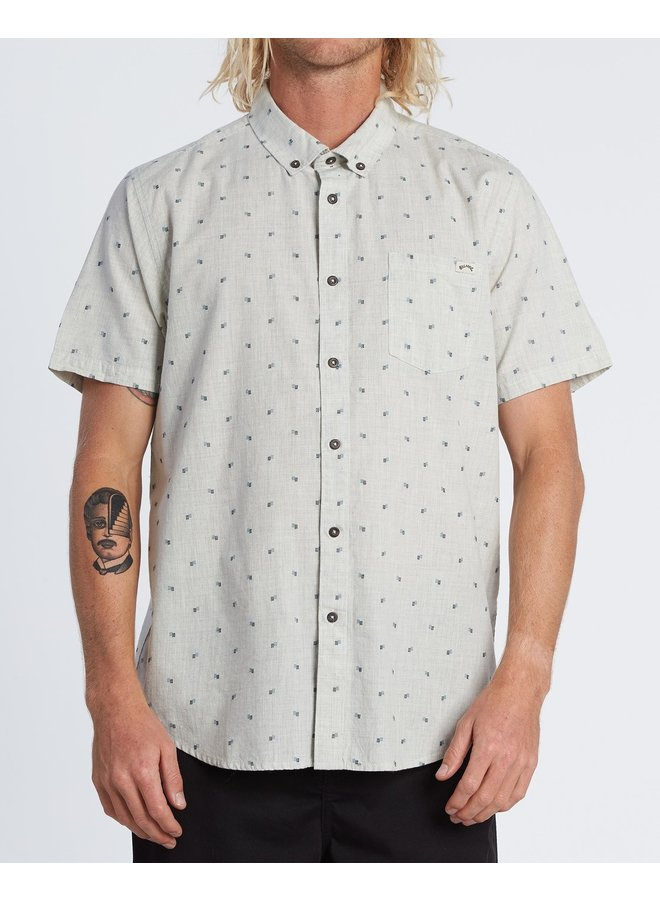 All Day Jacquard Shirt - Chino