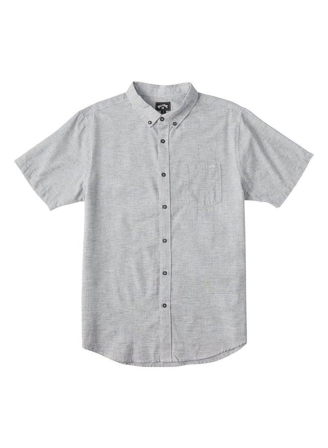 All Day Short Sleeve Shirt - Light Grey