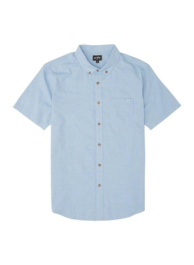All Day Short Sleeve Shirt - Light Blue