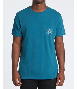 Directional Short Sleeve T-Shirt - Pacific