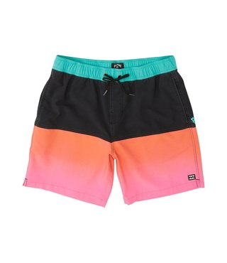 Fifty50 Layback Boardshorts - Neon Pink