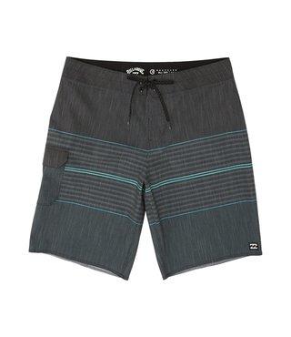 All Day Hthr Stripe Pro Boardshorts - Chrcl