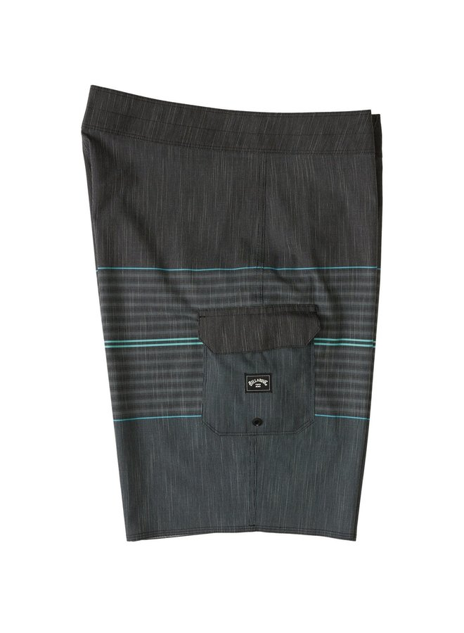 All Day Hthr Stripe Pro Boardshorts - Chrcl