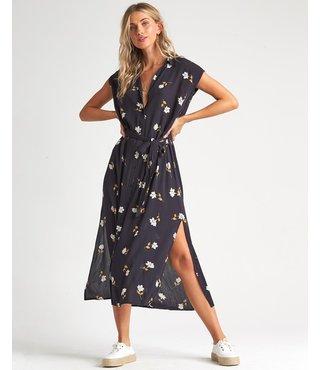 Little Flirt Dress - Black Floral