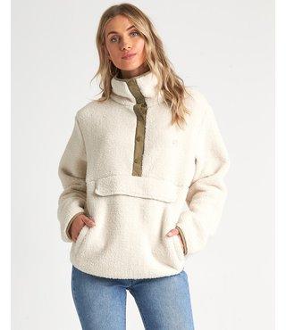 Switchback Pullover Fleece - Whisper