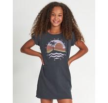 Girls' Last Quarter T-Shirt Dress - Blk Multi