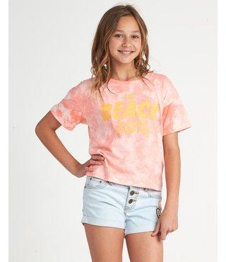 Girls' Beach Babe T-Shirt - Pink Haze
