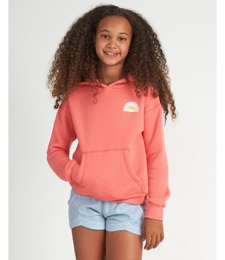 Girls' Bright Light Hoodie - Coral