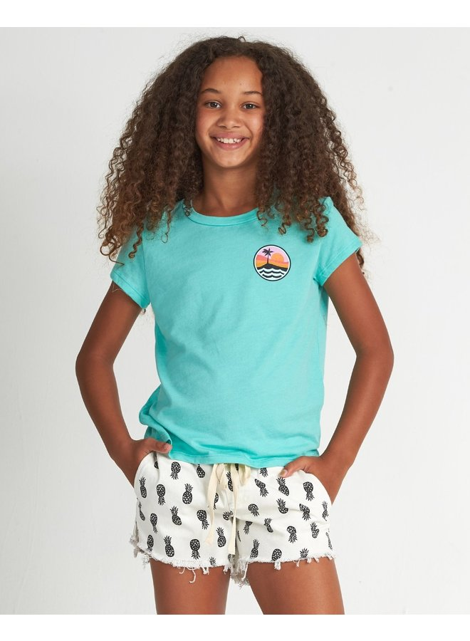 Girls' Spring Tide T-Shirt - Jade
