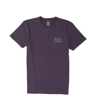 Boys' Diecut Short Sleeve T-Shirt - Purple