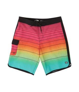 Boys' 73 Stripe Pro Boardshorts - Neon