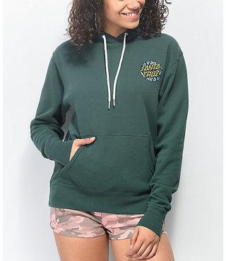 Handsa Dot Women's Pullover Hoodie - Alpine