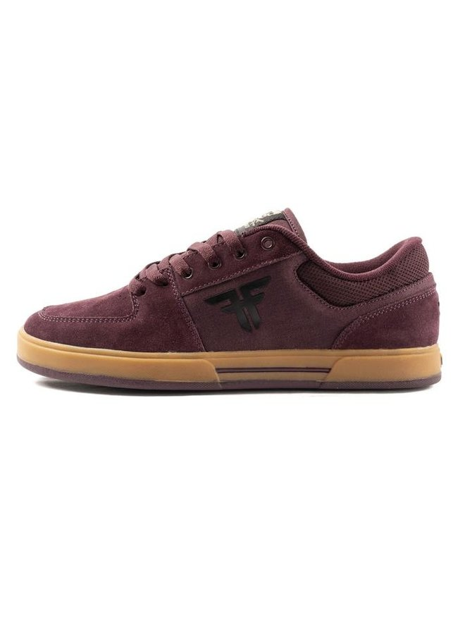 Billy Marks Patriot Skate Shoes - Wine/Gum