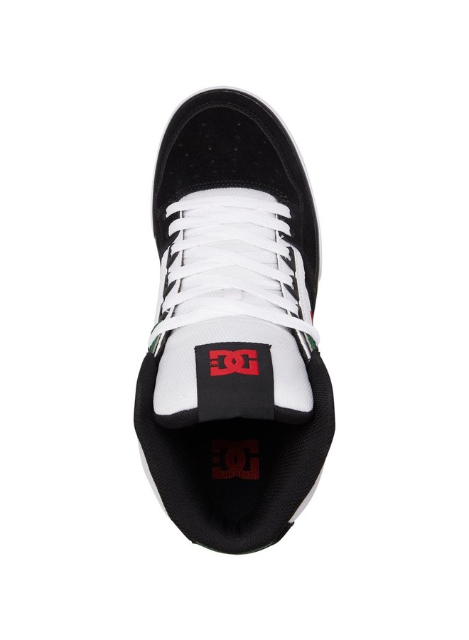 Pure SE High Top Shoes - White Green Black