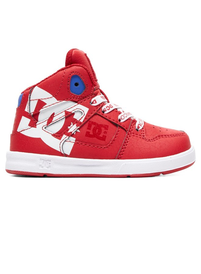 Toddler Pure SE High-Top Shoes - Red/Wht/Red