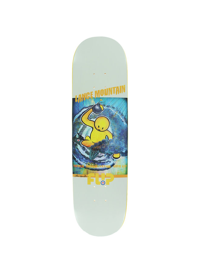 Mountain Doughboy Bkt Crm 8.25 Skateboard Deck