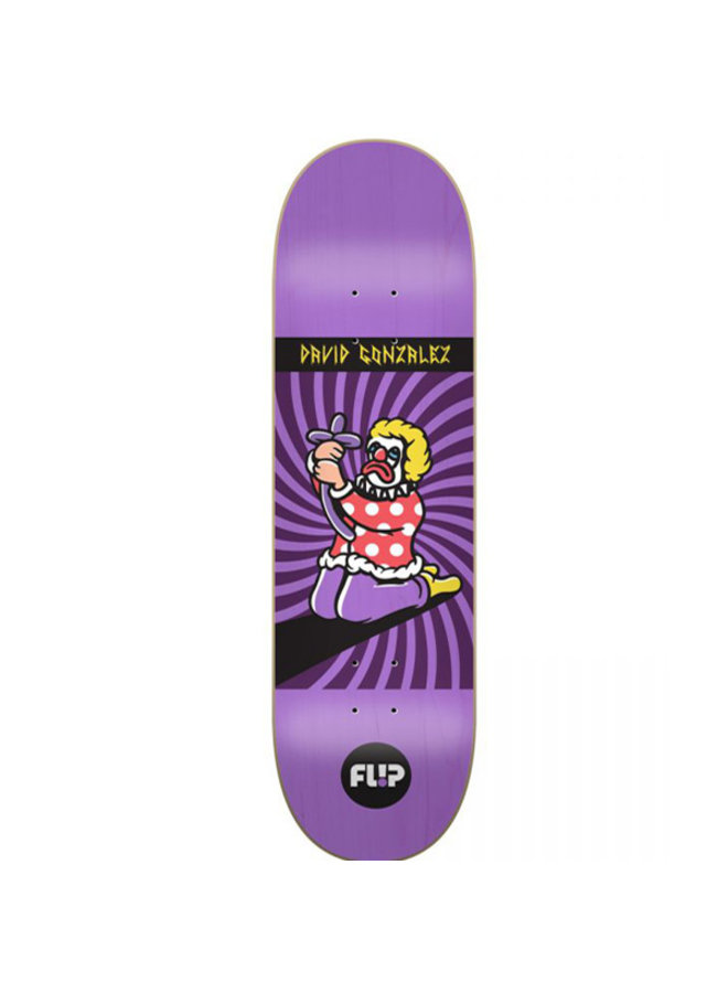 "Gonzalez Spiral 8"" Skateboard Deck"
