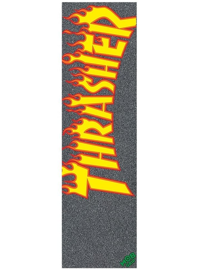 "Thrasher Flame Logo 9"" Skateboard Grip Tape"