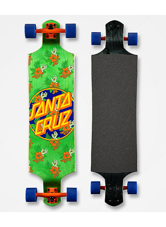 Drop Down Vacation Dot 40 Longboard Complete