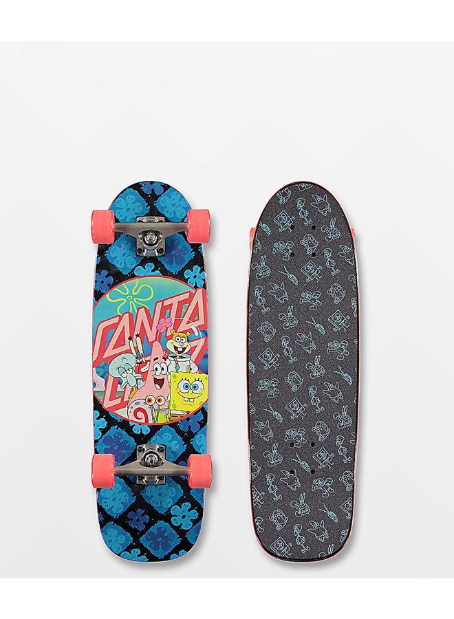 SC x Sponge Bob Group 8.79 Cruiser Skateboard
