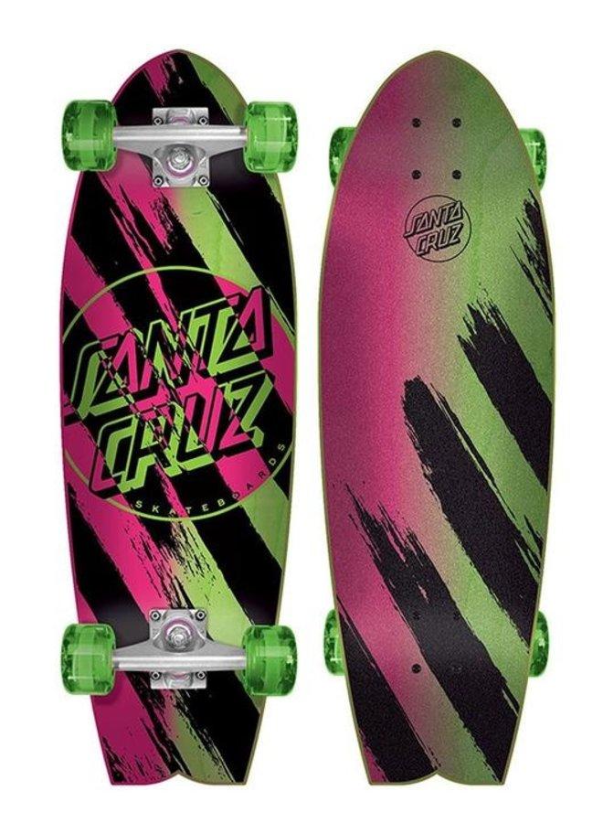 Shark Brush Dot 8.8 Cruiser Skateboard