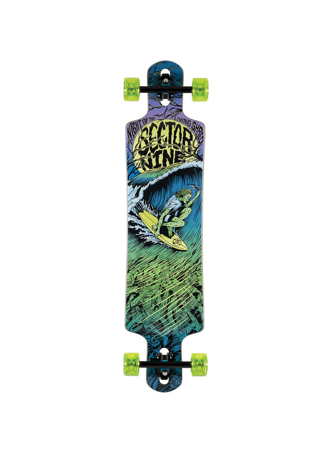 """Night of the Shred 40.5"""" Longboard Complete"""