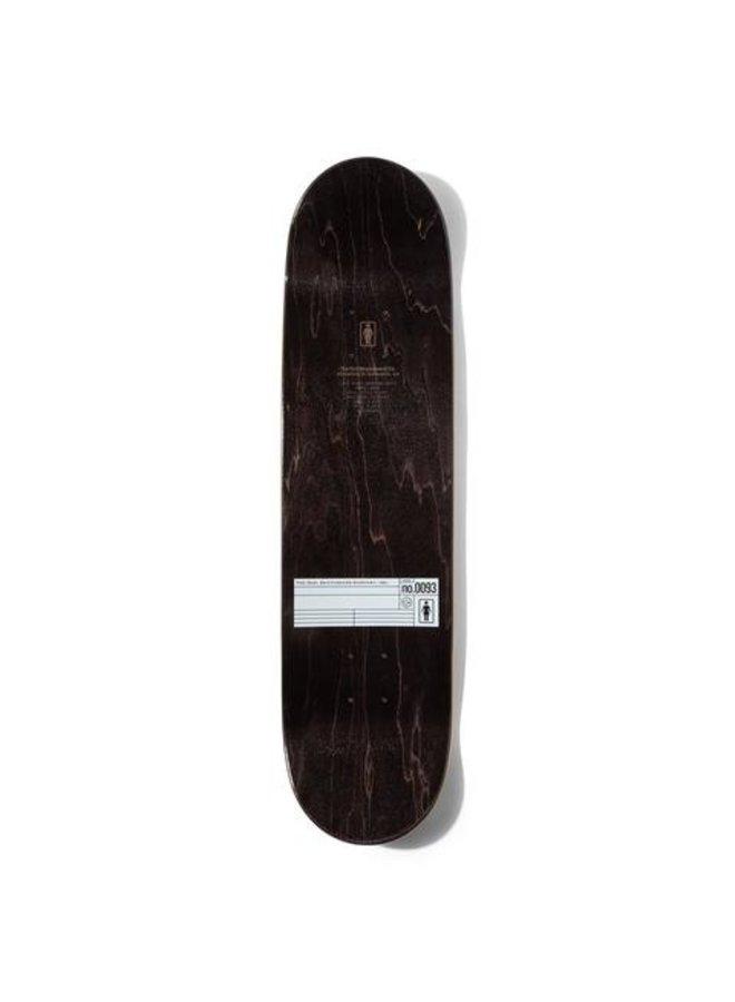 Kennedy Grid OG 8.375 Skateboard Deck