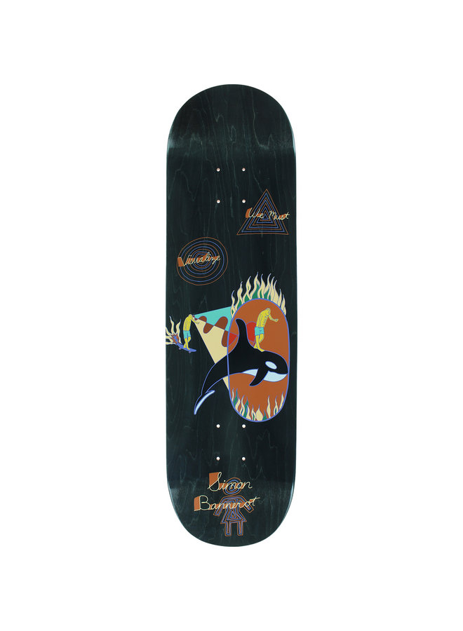 Bannerot One Off 8.5 Skateboard Deck