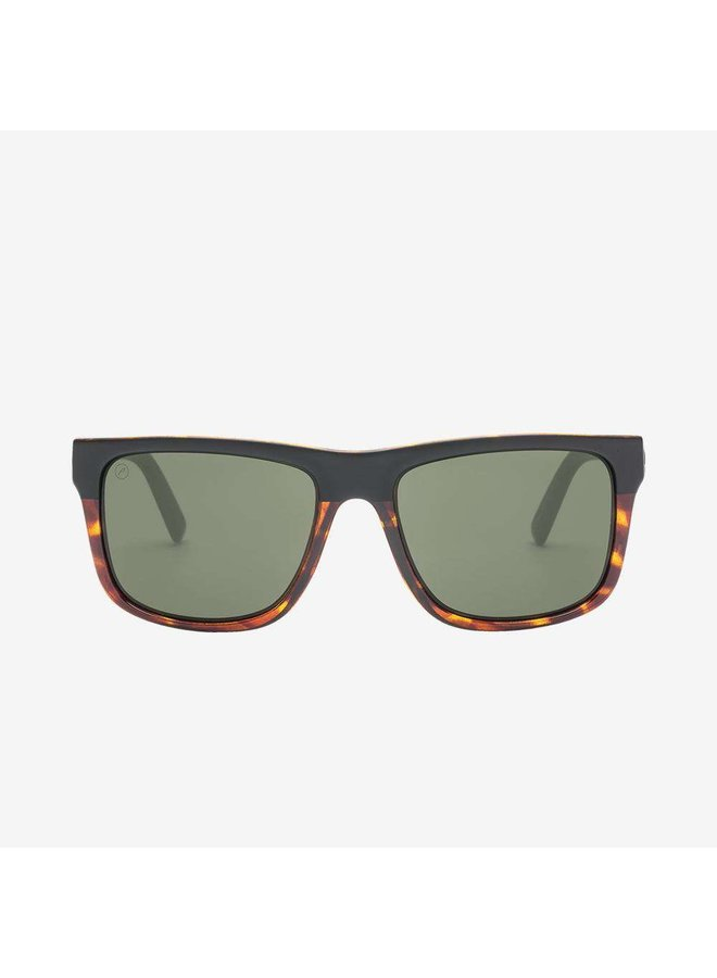 Swingarm XL Darkside Tort Sunglasses w/ Grey Polarized Lenses
