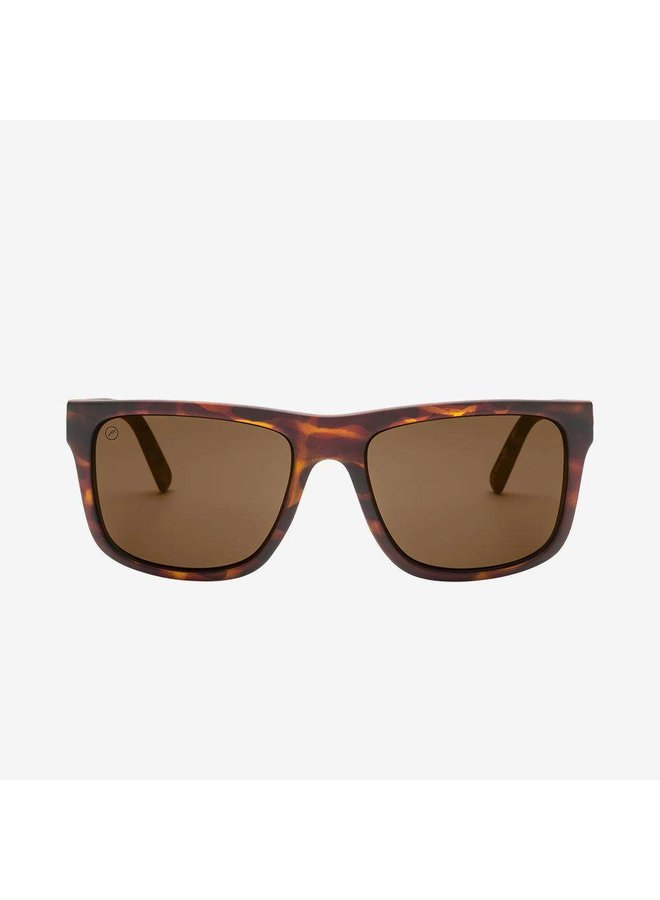 Swingarm XL Matte Tort Sunglasses w/ Bronze Polarized Lenses