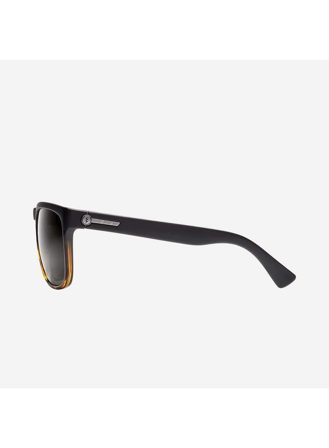Knoxville XL Darkside Tort Sunglasses w/ Polarized Grey Lens