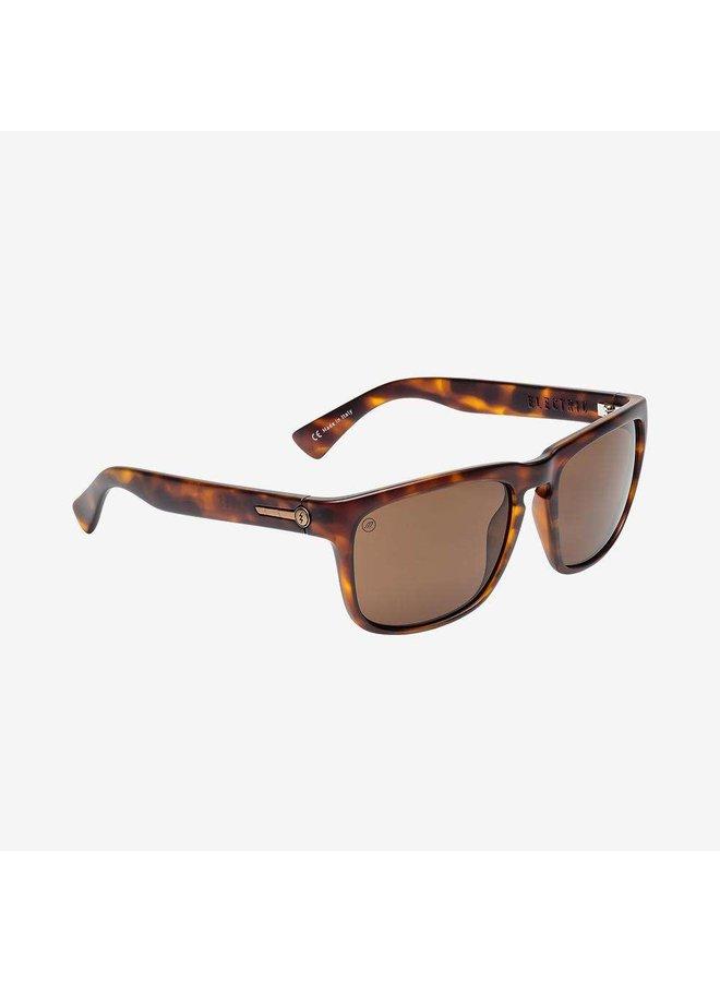 Knoxville Matte Tort Sunglasses w/ Polarized Bronze Lens