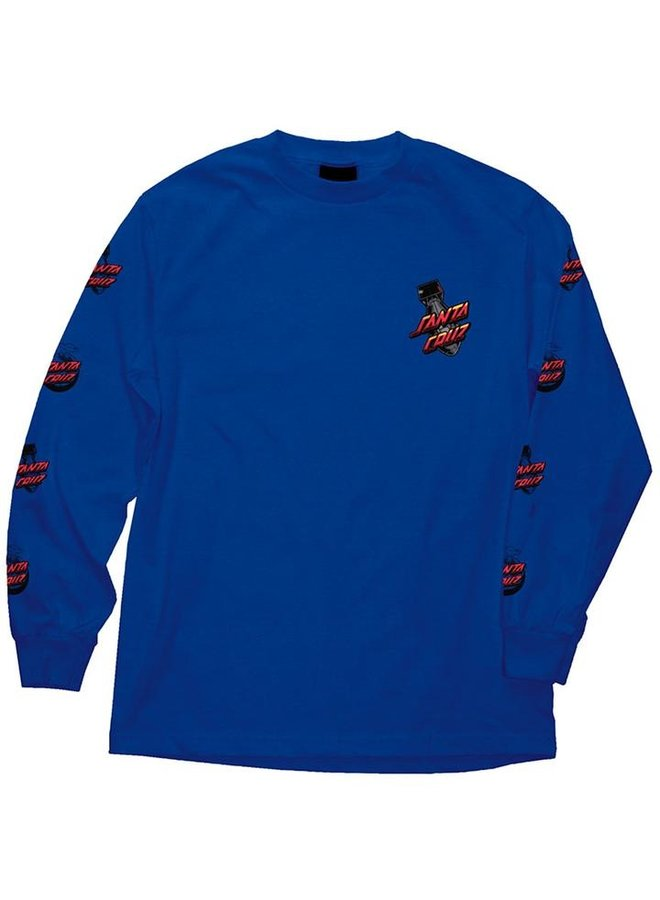 Atomic Dot Long Sleeve T-Shirt - Royal Blue