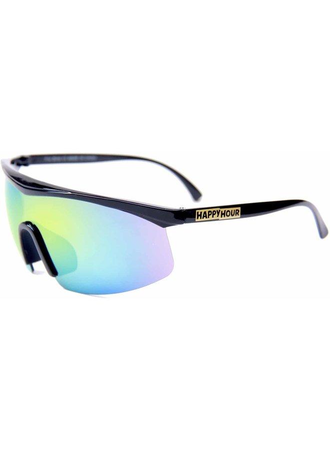 Happy Hour Fire Birds Sunglasses - Black Yellow