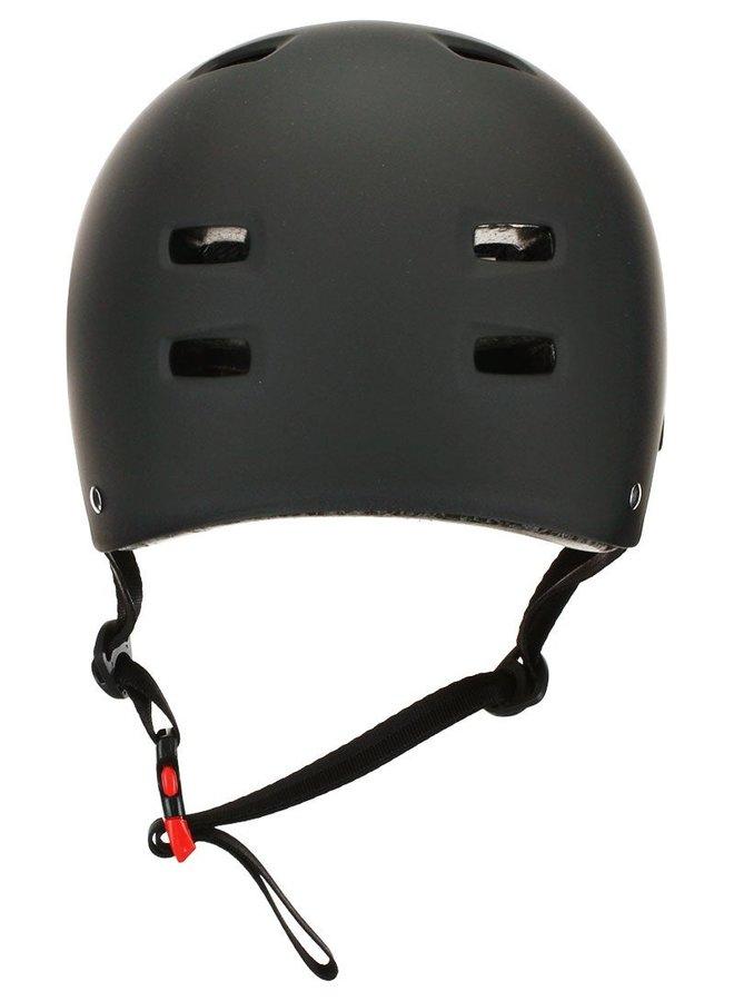Bullet Certified Skateboard Helmet - Matte Black