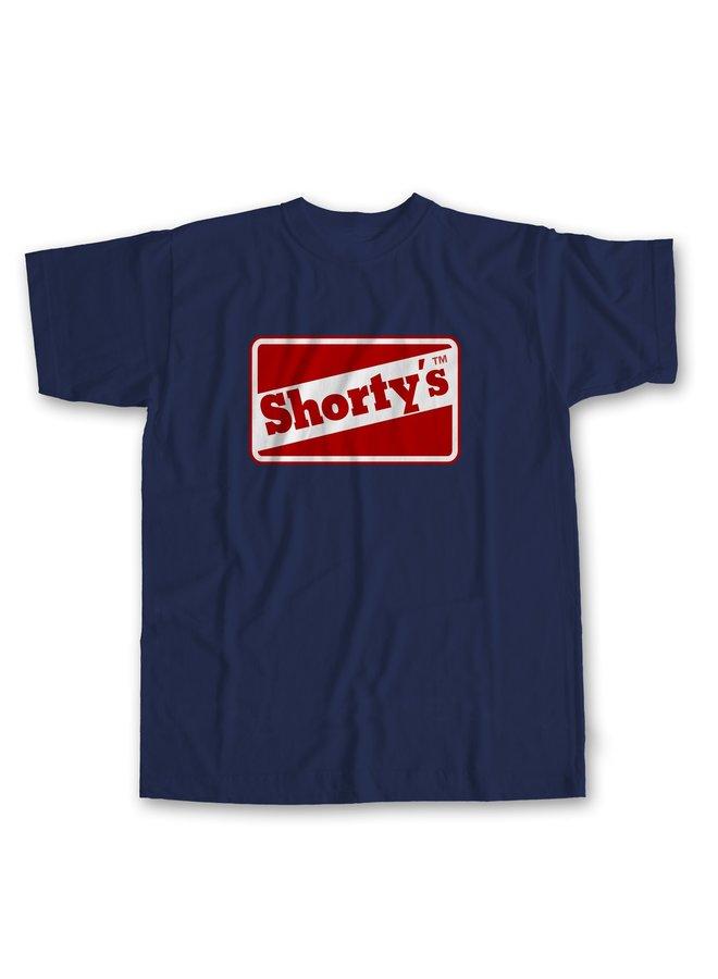 Shortys OG Logo Short Sleeve T-Shirt - Navy