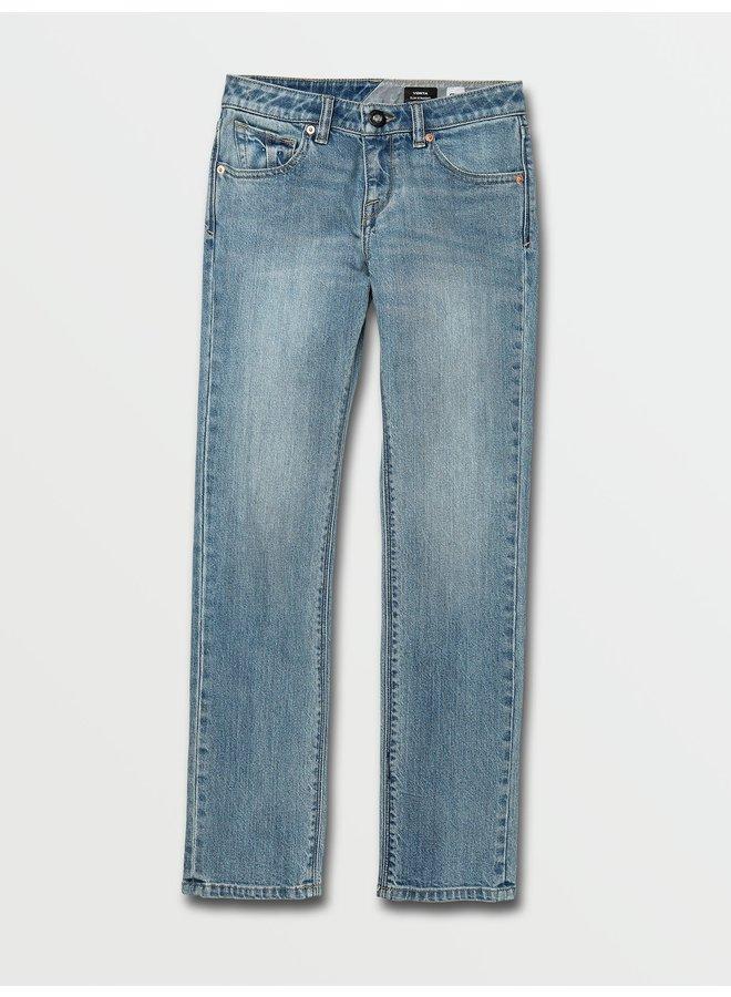 Big Boys Vorta Slim Fit Jeans - Vintage Marbled Indigo