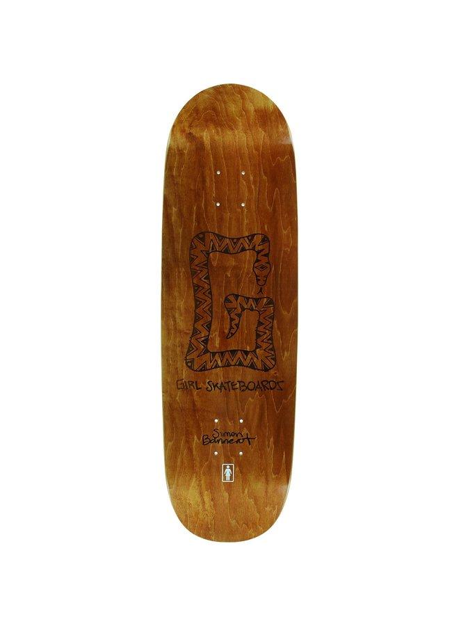 Bannerot G Snake One Off 9.0 Skateboard Deck