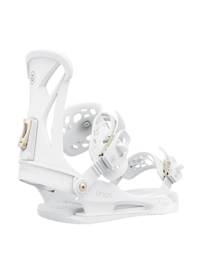 2021 Juliet White Snowboard Bindings