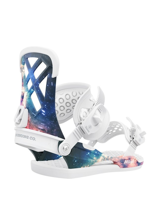 2021 Milan Space Dust Snowboard Bindings