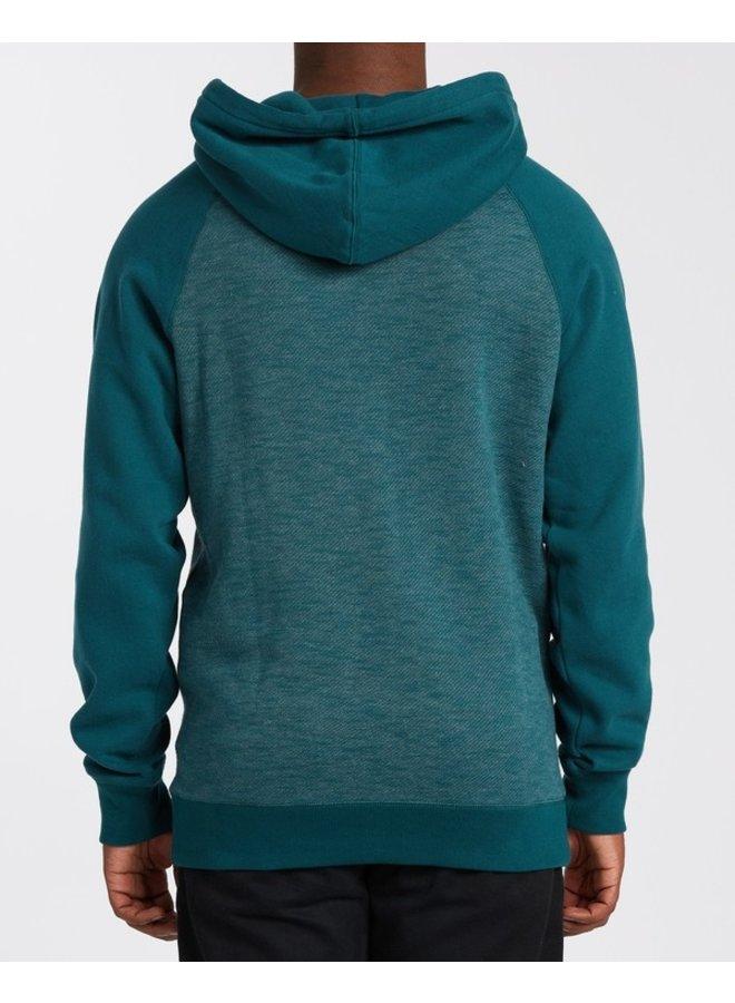 Balance Pullover Hoody - Deep Teal