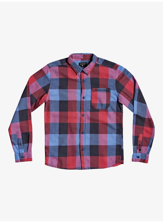 Boy's 8-16 Motherfly Flannel Long Sleeve Parisian Nt.