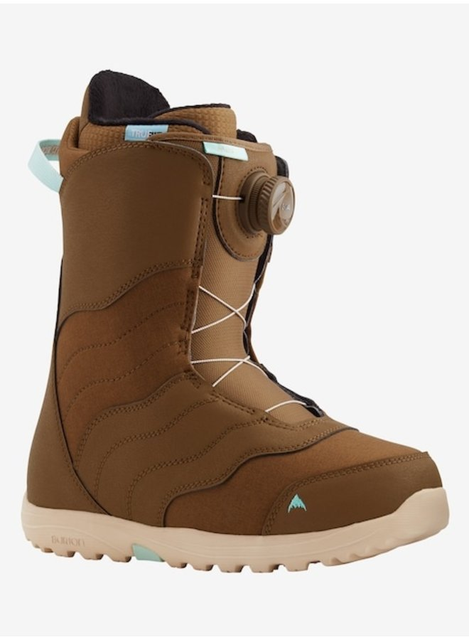 2021 Mint Boa Snowboard Boots Brown