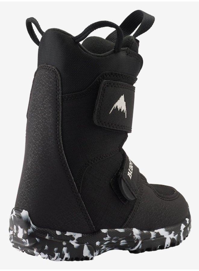 2021 Kids Mini Grom Snowboard Boots Black
