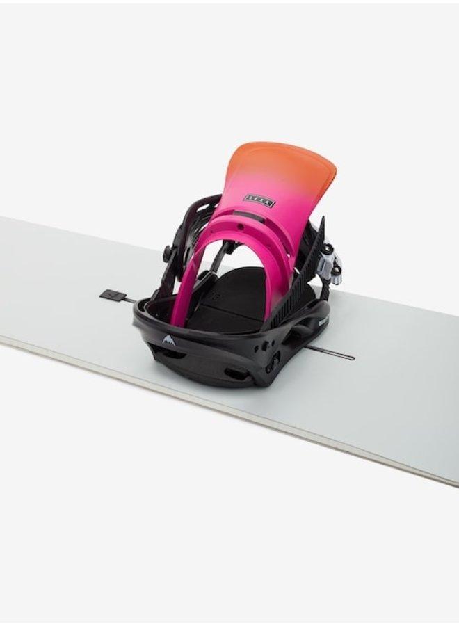 2021 Lexa Re:Flex Snowboard Binding Sunset/Blk
