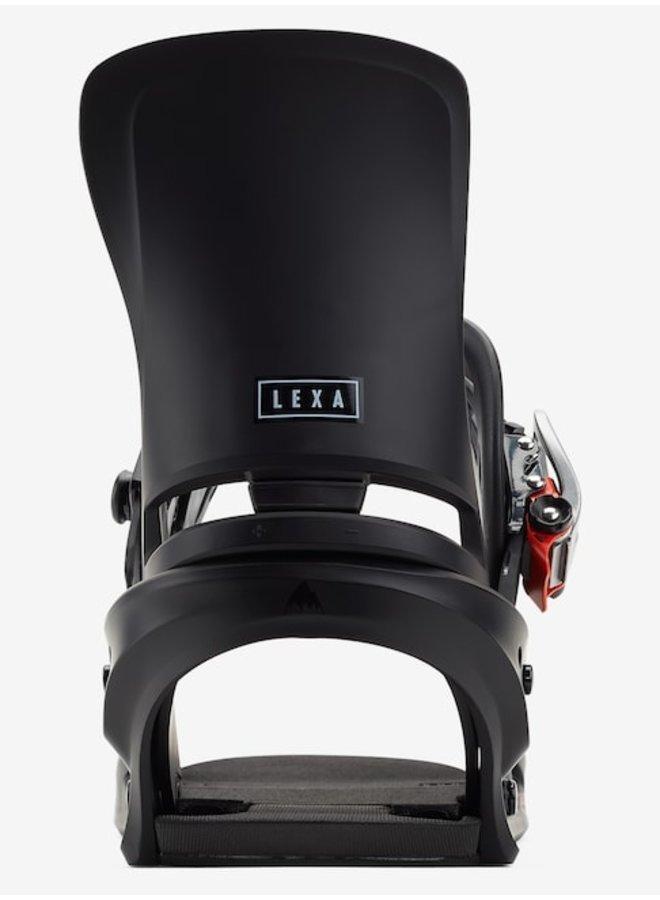 2021 Lexa Re:Flex Snowboard Binding Black