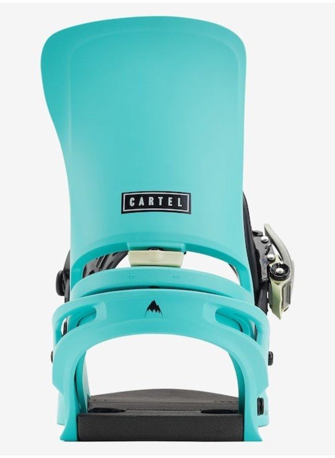 2021 Cartel Re:Flex Snowboard Binding Glacier Grn