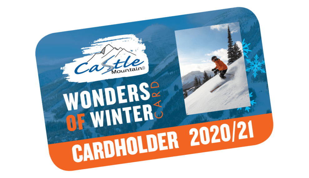 Castle Wow Card 50% Off Passes Everyday All Season