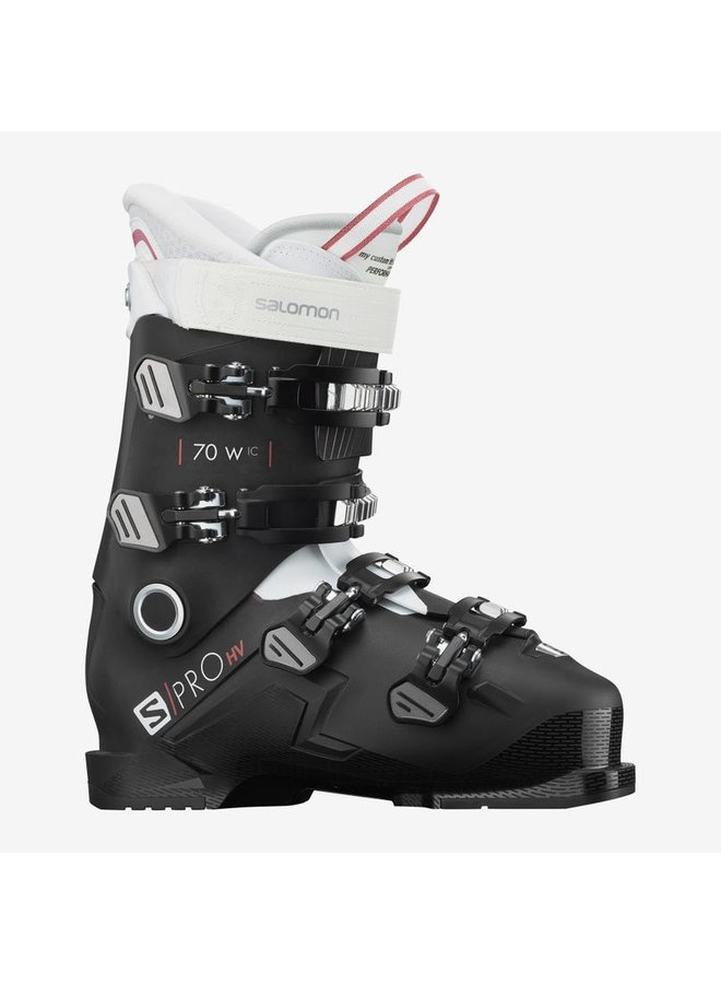 Womens Aline Boots S/Pro HV70 W IC: Bk/Wh/Pin